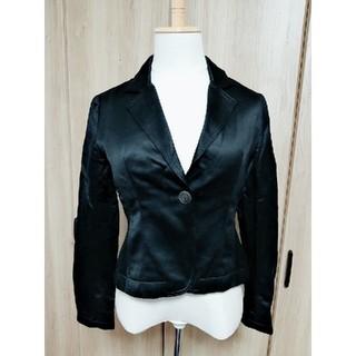 サトルタナカ(SATORU TANAKA)のサトルタナカ ブラックジャケット美品(テーラードジャケット)