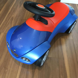 ビーエムダブリュー(BMW)の◆うさぎちゃん様専用◆BMW ベビーレーサーⅡ ブルー×オレンジ(手押し車/カタカタ)