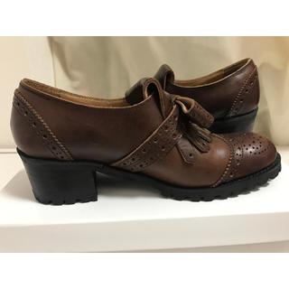 ジェーンマープル(JaneMarple)のJane marple タッセルシューズ(ローファー/革靴)