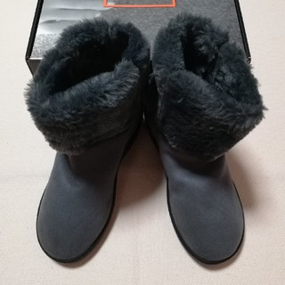 アルコペディコ(ARCOPEDICO)の新品 ARCOPEDICO ブーツ L'ライン MILAN2 グレー 23.5(ブーツ)