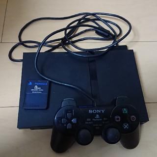 プレイステーション2(PlayStation2)のプレイステーション2  一式(家庭用ゲーム本体)