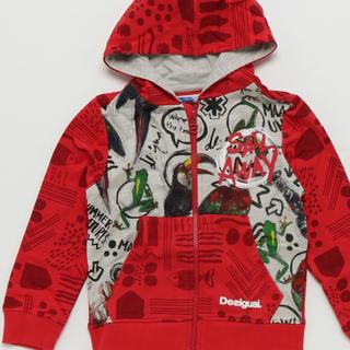 デシグアル(DESIGUAL)の新品 定価10,900円 デシグアル パーカー kids 4、6、8、10歳(ジャケット/上着)