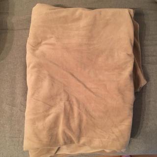 ムジルシリョウヒン(MUJI (無印良品))の✨無印良品 掛け布団カバー シングルサイズ(ベージュ)✨(シーツ/カバー)
