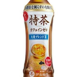 96本 送料無料 特茶 カフェインゼロ 大麦ブレンド 500ml 48本×2(茶)