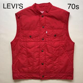 リーバイス(Levi's)のVintage 1970s LEVI'S®︎「NYLON VEST」(ベスト)