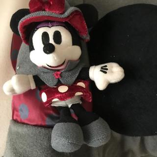 ディズニー(Disney)のミニーマウス 帽子 ディズニーランド ディズニーシー(キャラクターグッズ)