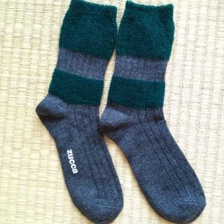 ズッカ(ZUCCa)のZUCCa 新品未使用靴下 2枚セット!(ソックス)