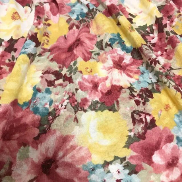しまむら(シマムラ)のHEALTHY KAREN フラワーフレアカットソー レディースのトップス(カットソー(半袖/袖なし))の商品写真