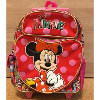 Disney - キャリーバッグ ミニーマウス子供用