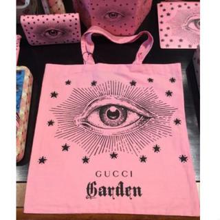グッチ(Gucci)の◆【GUCCI GARDEN 限定】アイモチーフ トートバッグ ピンク◆(トートバッグ)