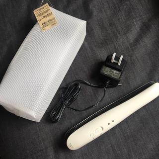 ムジルシリョウヒン(MUJI (無印良品))の無印良品 未使用 コードレスストレートヘアアイロン(ヘアアイロン)