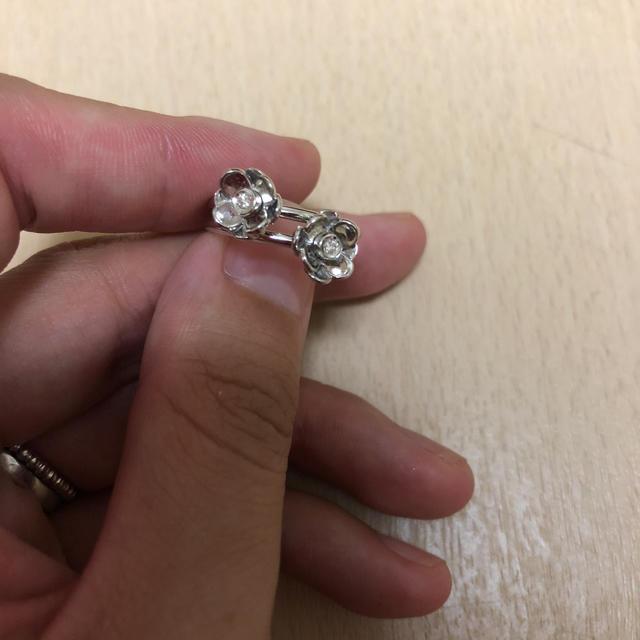 PonteVecchio(ポンテヴェキオ)のポンデヴェキオ リング 指輪 ダイヤモンド 花 9号 レディースのアクセサリー(リング(指輪))の商品写真