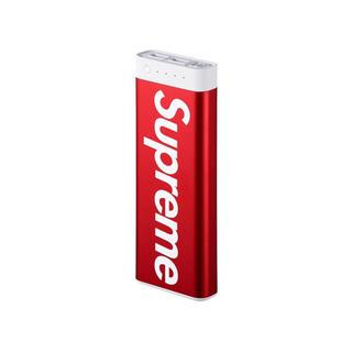 シュプリーム(Supreme)のsupreme mophie モバイルバッテリー(バッテリー/充電器)