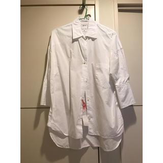 マディソンブルー(MADISONBLUE)のマディソンブルー サイズ01 定番 白シャツ(シャツ/ブラウス(長袖/七分))