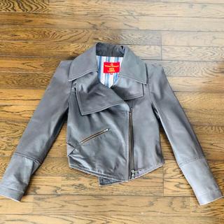 ヴィヴィアンウエストウッド(Vivienne Westwood)の【Vivienne Westwood】ライダースジャケット【Red Label】(ライダースジャケット)