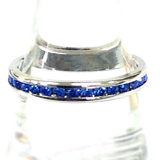 ブルー クリスタル リング 15号(リング(指輪))