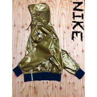 ナイキ(NIKE)のNIKE ゴールド ジャケット ユニセックスデザイン(ナイロンジャケット)