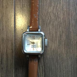 CABANE de ZUCCa - zucca キャラメル 時計