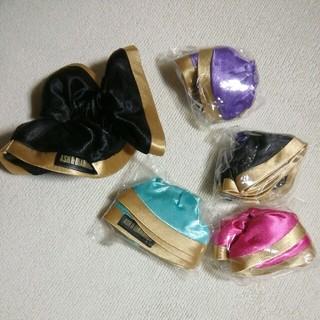 アッシュアンドダイアモンド(ASH&DIAMONDS)のASH&DIAMONDS☆シュシュ5個セット未使用(ヘアゴム/シュシュ)