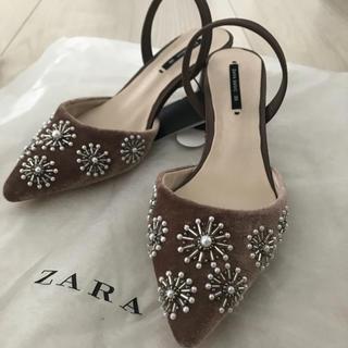 ザラ(ZARA)のZARA 35 新品(ハイヒール/パンプス)