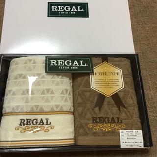リーガル(REGAL)のREGALフェイスタオル2P(タオル/バス用品)