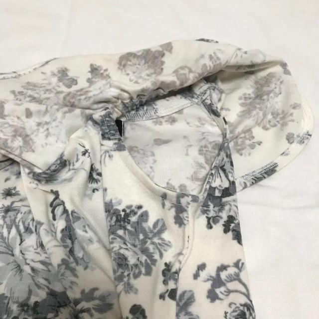 しまむら(シマムラ)のSorridere フラワーオフショルトップス レディースのトップス(カットソー(半袖/袖なし))の商品写真