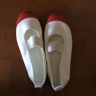 ムーンスター(MOONSTAR )の上履き 18cm 赤 新品未使用(スクールシューズ/上履き)