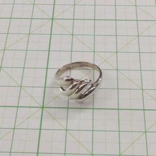 15 号サイズ ヨーロピアン デザイン シルバーリング SILVER 925(リング(指輪))