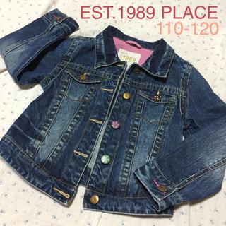 ゴートゥーハリウッド(GO TO HOLLYWOOD)の美品 USブランド EST 1989 PLACE インポート キッズ Sサイズ (ジャケット/上着)