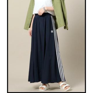アディダス(adidas)のadidas M♡ BEAUTY&YOUTH コラボ ロングスカート(ロングスカート)