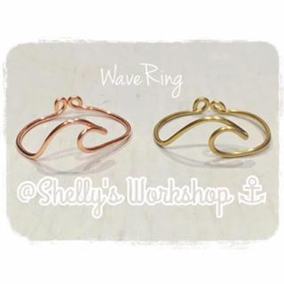 Wave Ring ⚓︎シルバー&ゴールド(リング)