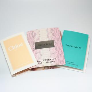 ティファニー(Tiffany & Co.)の香水サンプルセット(サンプル/トライアルキット)