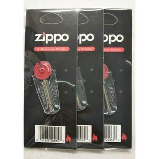 ジッポー(ZIPPO)のZippo   着火石(6石入り)×3セット(タバコグッズ)