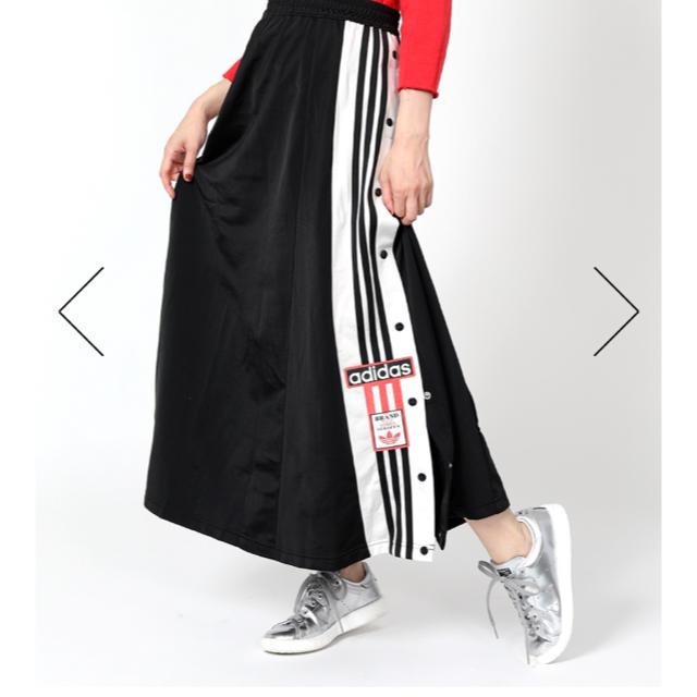 adidas(アディダス)の★新品★アディダス★ロングスカート★ブラック★XS レディースのスカート(ロングスカート)の商品写真