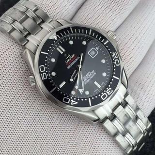 オメガ CHRONOMETER クロノメーター 機械式 メンズ腕時計 防水