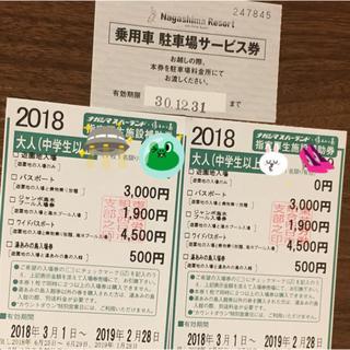 ナガシマスパーランド チケット(遊園地/テーマパーク)