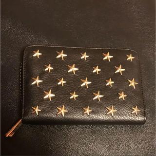 シマムラ(しまむら)の星 スタッズ 財布 黒(ローズバッド ZARA ジーユー GU しまむら)(財布)