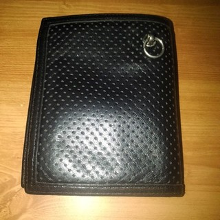 ジャムホームメイドアンドレディメイド(JAM HOME MADE & ready made)のパンチングレザー ウォレット(折り財布)