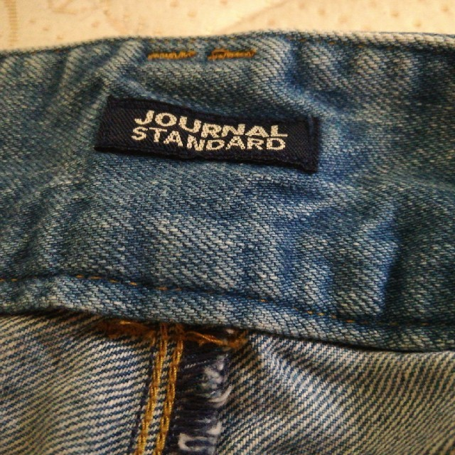 JOURNAL STANDARD(ジャーナルスタンダード)のjournal standard ワイドデニム レディースのパンツ(デニム/ジーンズ)の商品写真