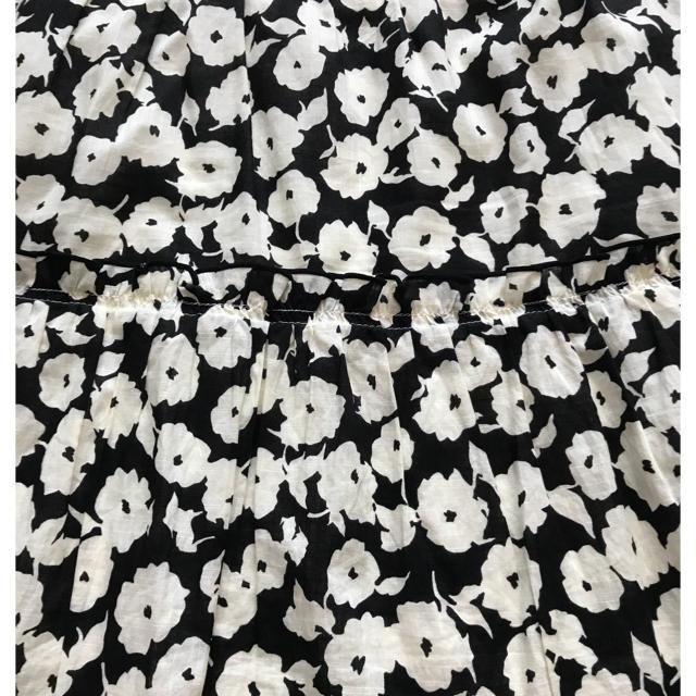marble ink(マーブルインク)の花柄 スカート レディースのスカート(ひざ丈スカート)の商品写真