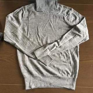 ムジルシリョウヒン(MUJI (無印良品))の無印  ウールタートルセーター M(ニット/セーター)