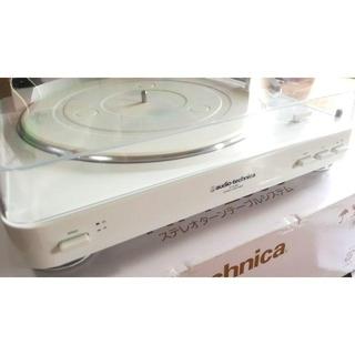 オーディオテクニカ(audio-technica)のタイムセール AT-PL300 WH オーディオテクニカ レコードプレーヤー(ターンテーブル)
