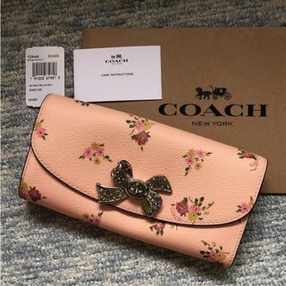 コーチ(COACH)の新品  COACH  コーチ  フローラル 長財布(財布)