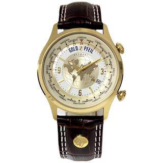 ゴールドファイル(GOLD PFEIL)の【新品・未使用】GOLD PFEIL 腕時計 ワールドタイム(腕時計(アナログ))