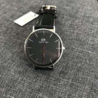 ダニエルウェリントン(Daniel Wellington)のダニエルウェリントン 腕時計 CLASSIC 40MM シルバー 新品(腕時計(アナログ))