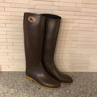 ダフナ(Dafna)のダフナ  レインブーツ  23cm〜  37表記  美品(レインブーツ/長靴)