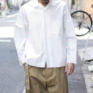 ヤエカ(YAECA)のAURALEE オープンカラーシャツ 18ss(シャツ)