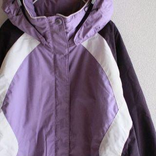 コロンビア(Columbia)のUS コロンビア 中綿 purple マウンテン スノー ジャケット(登山用品)