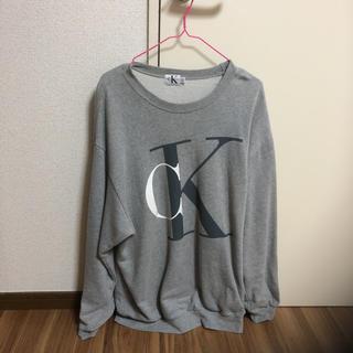 カルバンクライン(Calvin Klein)のカルバンクライン  トレーナー(スウェット)