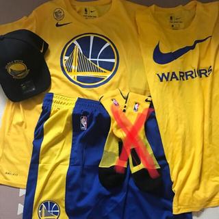 ナイキ(NIKE)のナイキ NIKE ウォーリアーズ 3点セット NBA(Tシャツ/カットソー(半袖/袖なし))